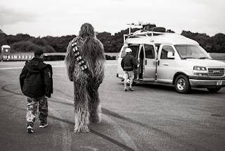 Chewie Goes To The Van