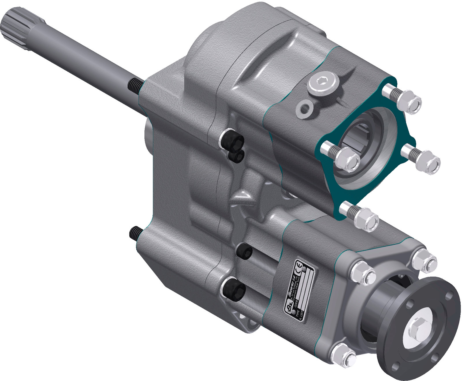Among the many new developments Bezares is launching in 2015, there is the  new Twin Output Heavy Duty PTO for ZF Ecosplit series gearboxes (with or  without ...