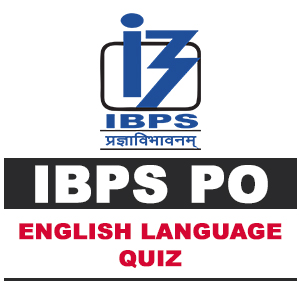 English Language For IBPS PO | 03- 10- 18