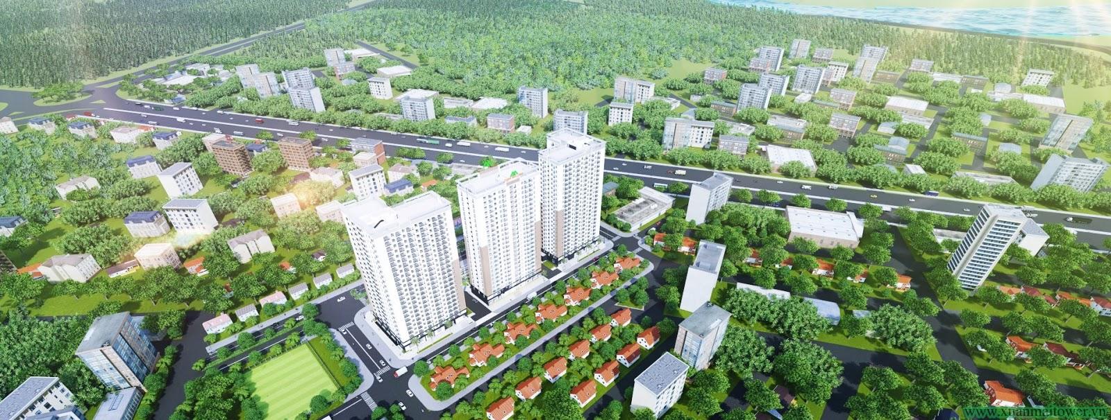 Chung cư Xuân Mai Tower Thanh Hoá