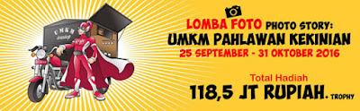 Lomba Photo Story UMKM Pahlawan Kekinian - OJK