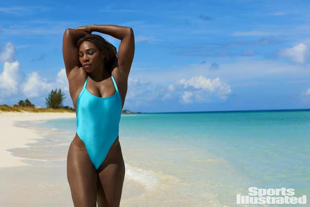 Η φωτογράφηση της Serena Williams στο περιοδικό Sports Illustrated