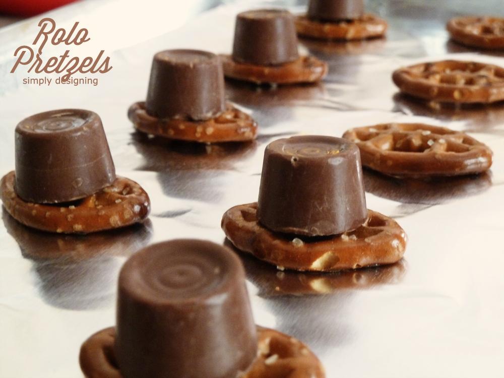 Caramel Chocolate Rolo Pretzels Recipe