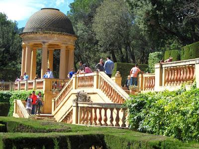 Templete de Ariadna en el Parc del Laberint