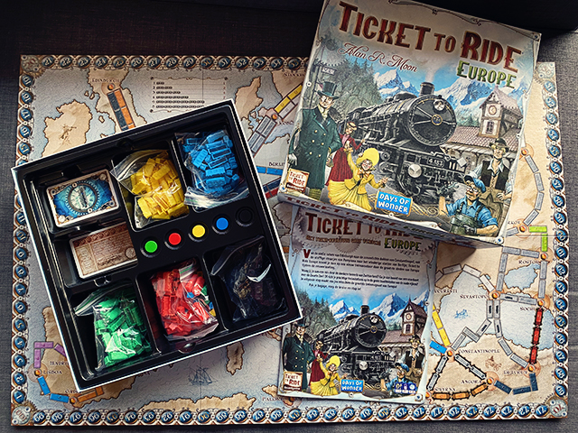 Ticket to Ride Europe spel