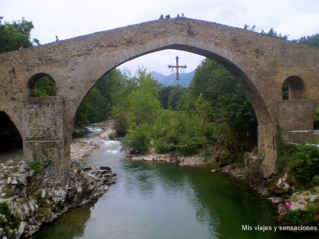 Puente romano de Cangas de Onís, Asturias