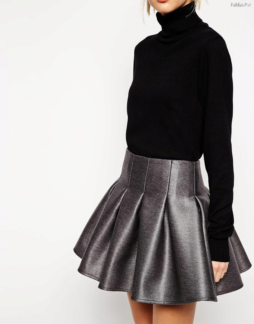 Faldas Cortas de Vuelo 30 Lindos Diseos Faldas Moda 2018 2019