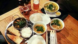 Orientalna kolacja