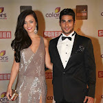 Amy Jackson and Pratik at 18th Annual Colors Screen Awards