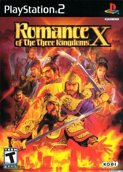 รวมภาพตัวละครจากเกมสามก๊ก6 (Romance of the Three Kingdoms 10,ROTKX)