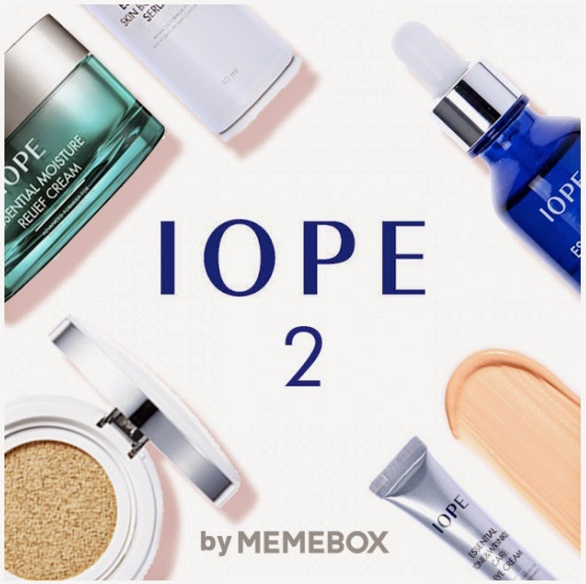 Memebox, Korean beauty, IOPE