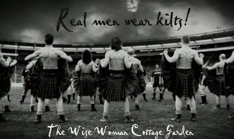 Masculine Men: Real Men Wear Kilts