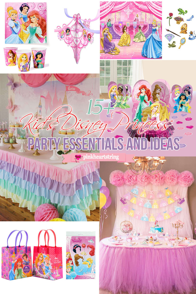Disney Princess Party Essentials and Ideas
