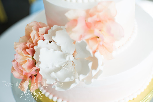 Wedding Cake, Flowers, Ludgers