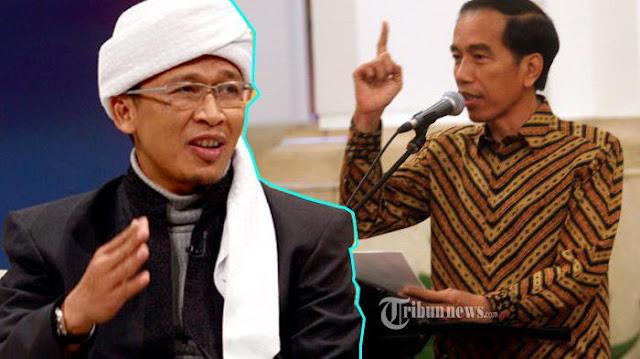 Dianggap Sama, Pendukung Jokowi Minta Aa Gym Beri Himbauan Maklumi Ucapan 'Alfateka'
