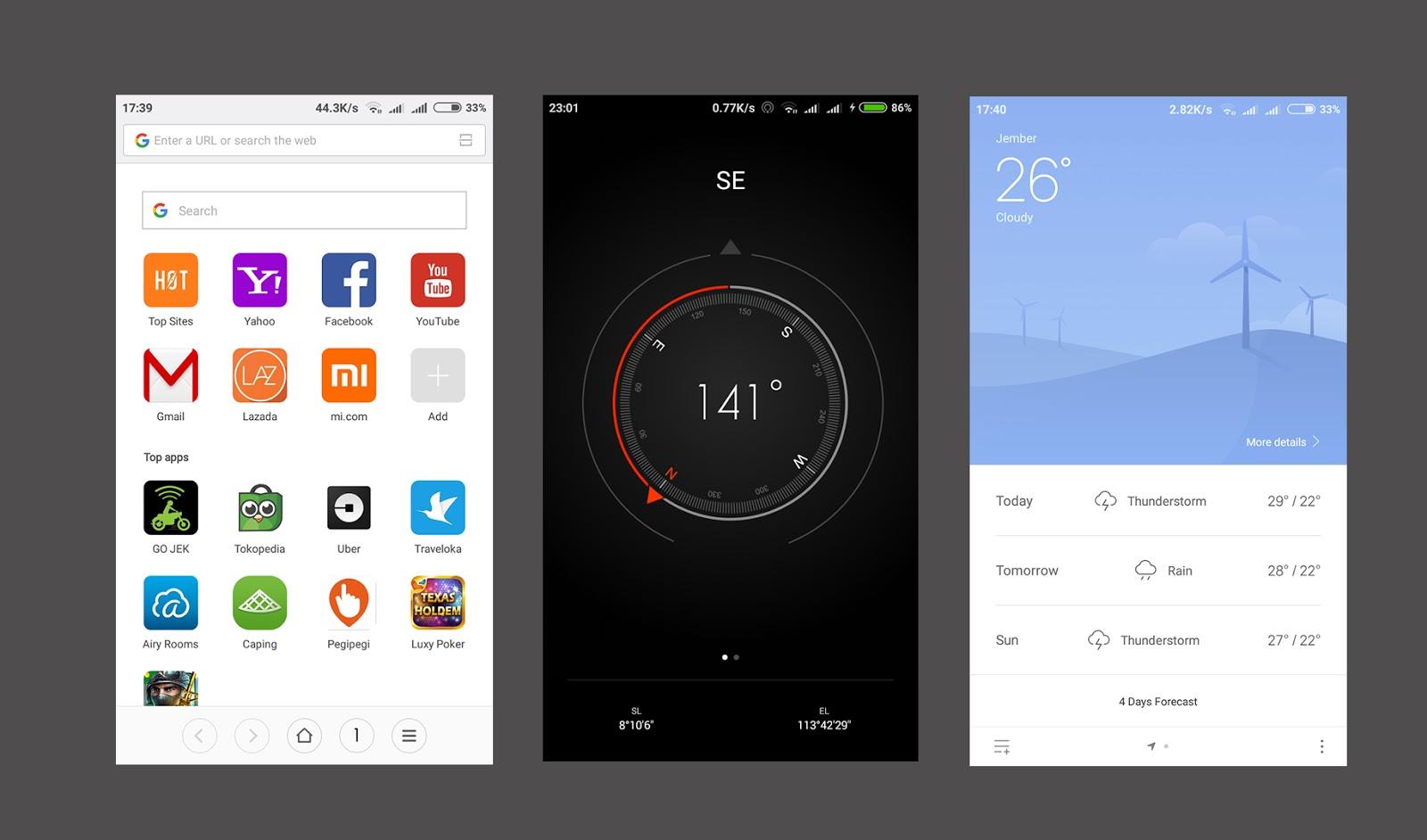 Mengenal Fungsi 9 Aplikasi Bawaan Xiaomi Redmi 5a Review Sotoy