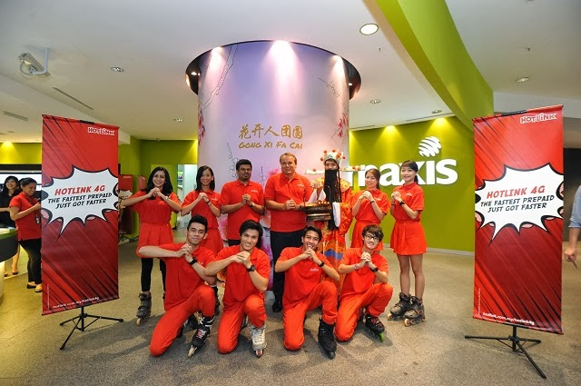 Hotlink 4G Chinese New Year Launch Campaign