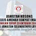 Jawatan kosong kerajaan terkini 2016 | Majlis Amanah Rakyat (MARA)