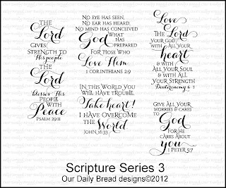 Our Daily Bread Designs, Scripture Series 3