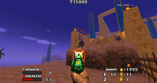 Doom - The Golden Souls 2 - Pistol with infinite ammo is boring and slow