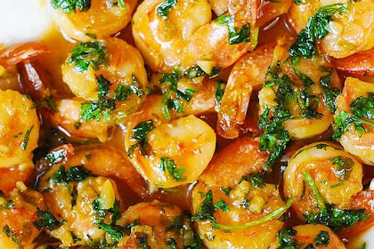 Cilantro-Lime Honey Garlic Shrimp