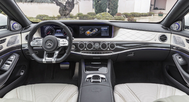 2018 Mercedes-AMG S63 Review Interior