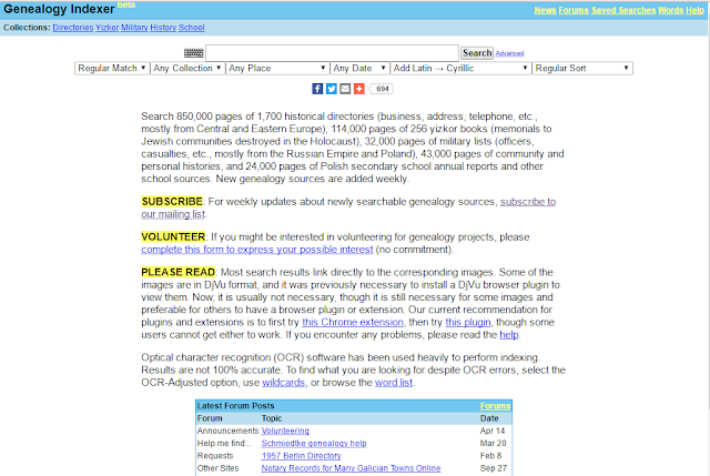 Genealogy Indexer – Do NOT let its simplicity fool you!