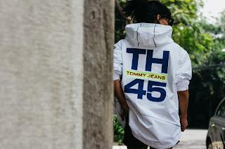 chamarra blanca TH 45 Tommyhilfiger