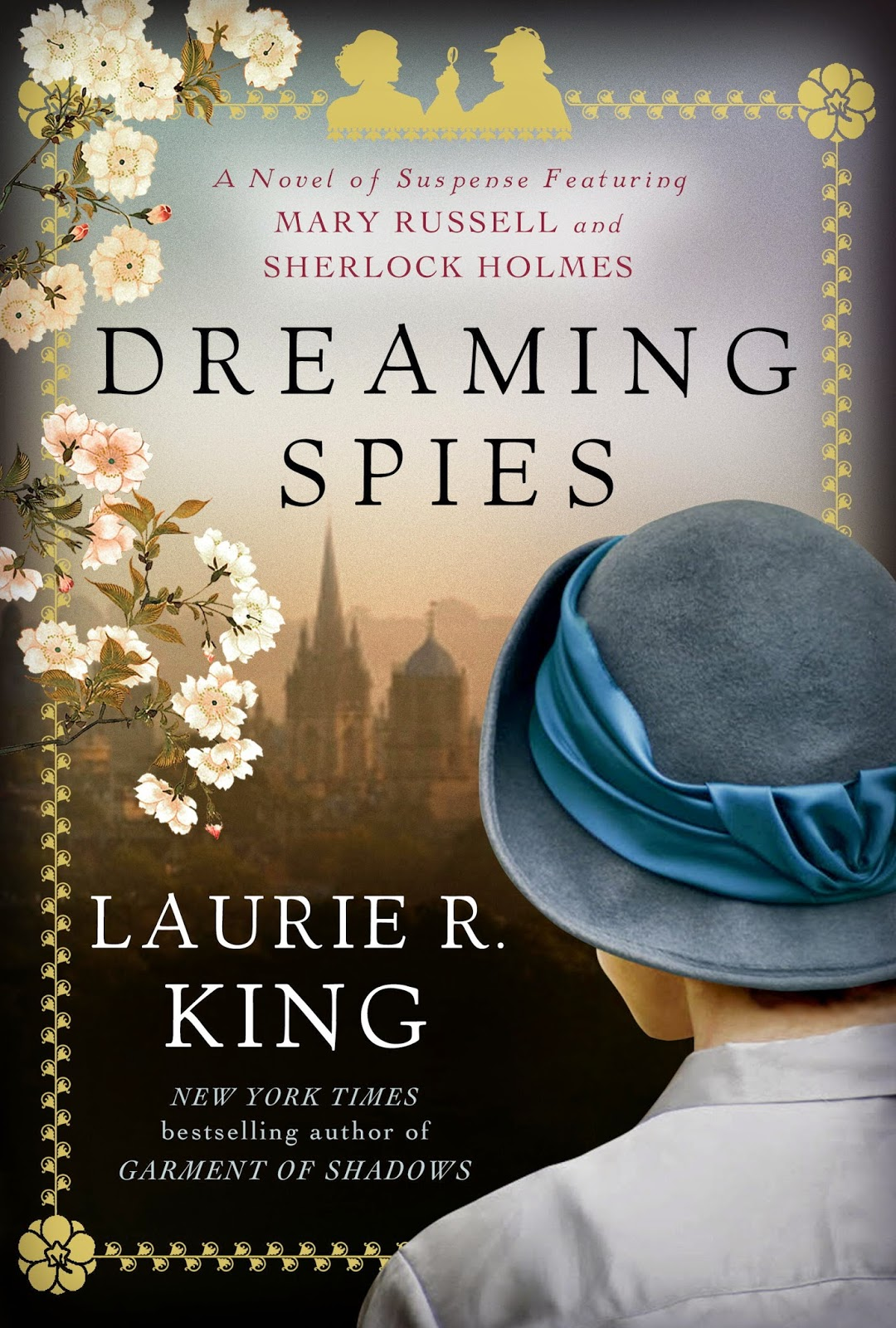 Dreaming Spies, Laurie R. King book cover