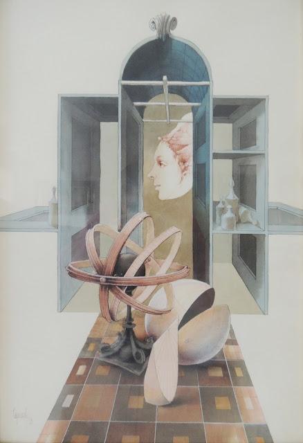 Glauco Capozzoli dibujo desnudo encajonada
