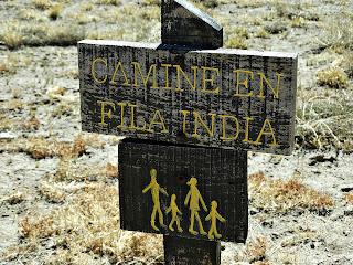 Camine en Fila India - Parque Provincial Aconcagua, Mendoza