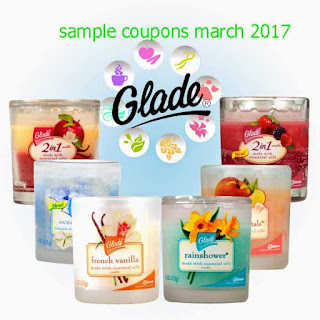 free Glade coupons march 2017