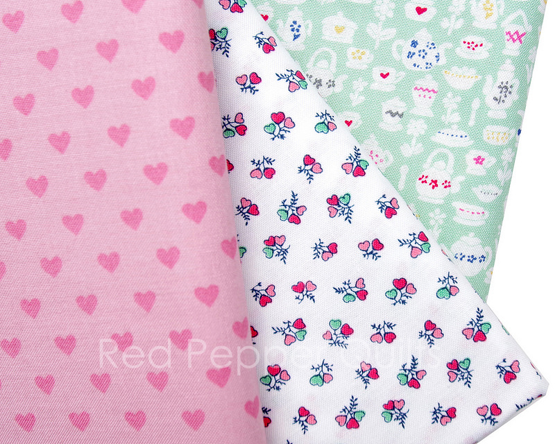 Tea for Two by Liberty of London | © Red Pepper Quilts 2018 #sundaystash #libertyoflondon #quiltingcotton