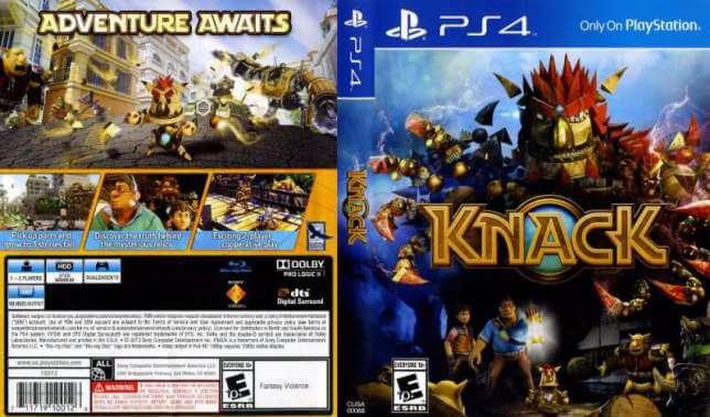 KNACK PS4 TÉLÉCHARGEMENT GRATUIT