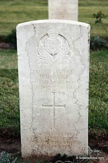 ישראל בתמונות: בית הקברות הצבאי הבריטי ברמלה