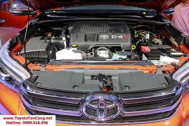 HILUX 2016 toyota tan cang 11 -  - So sánh Toyota Hilux và Mitsubishi Triton 2016 : Cạnh tranh mạnh mẽ trong phân khúc xe bán tải
