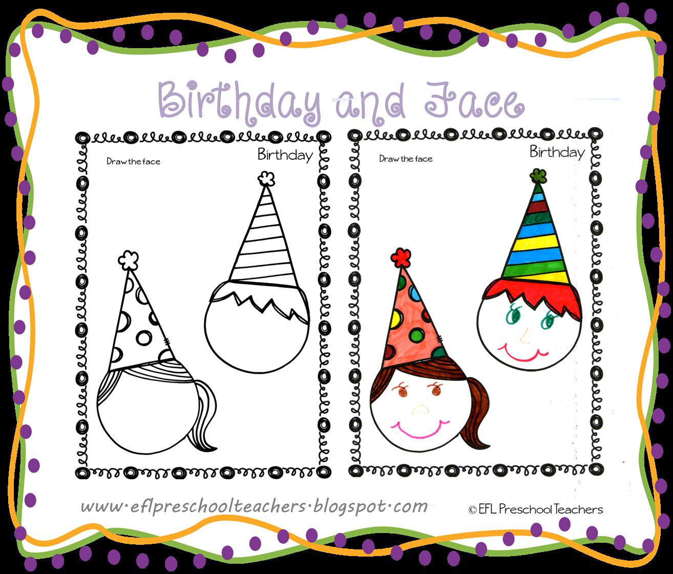 esl efl preschool teachers face teaching materials for the