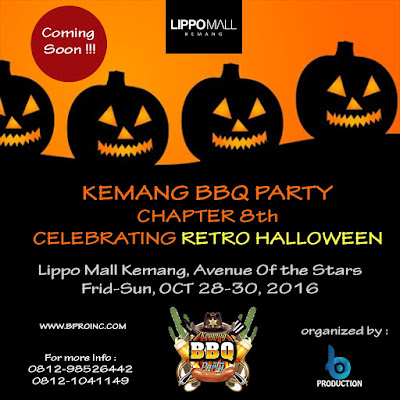 Kemang BBQ Party Chapter 8, Retro Halloween