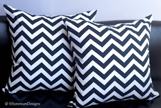 cheap home decor chevron pillow covers home decor sale etsy black and white