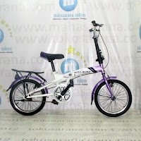 16 Inch Highwind FS1 Single Speed Folding Bike