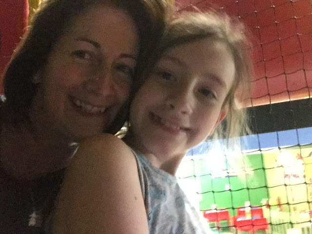Sasha and mum in soft play hell