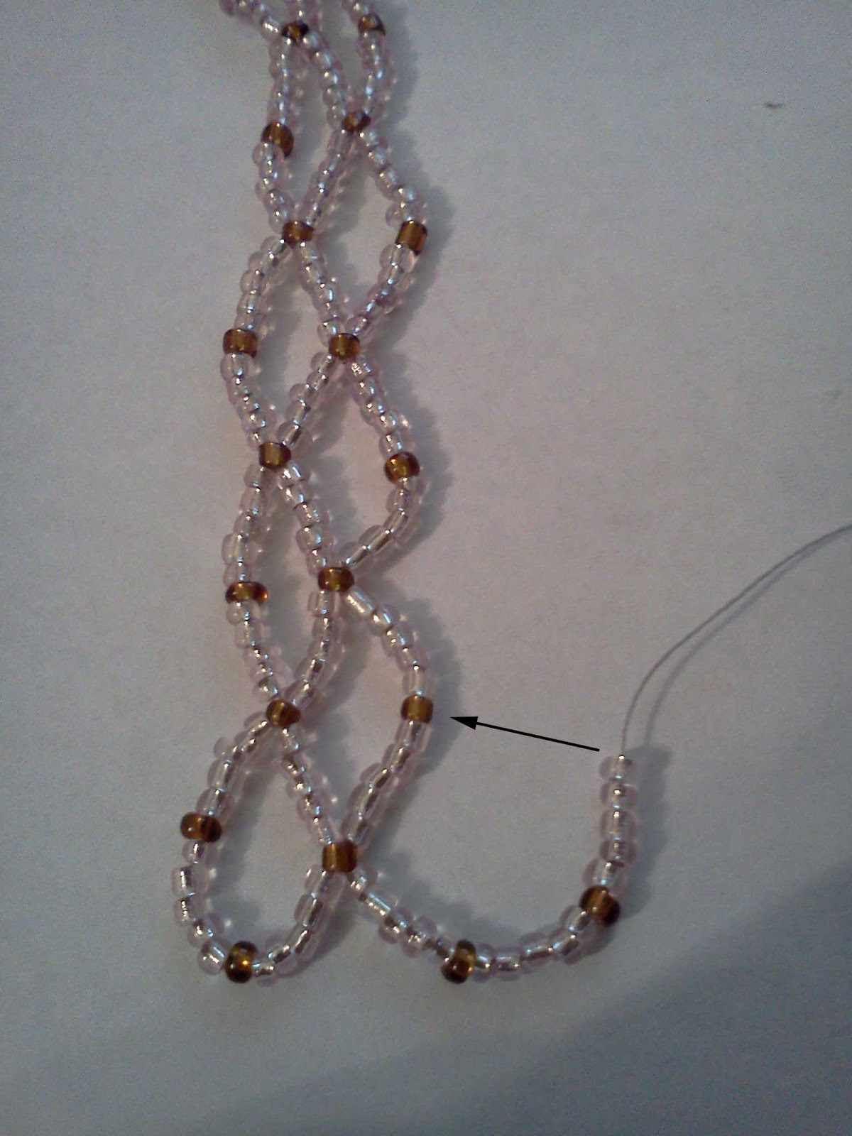 Beaded Ornament Cover Tutorial