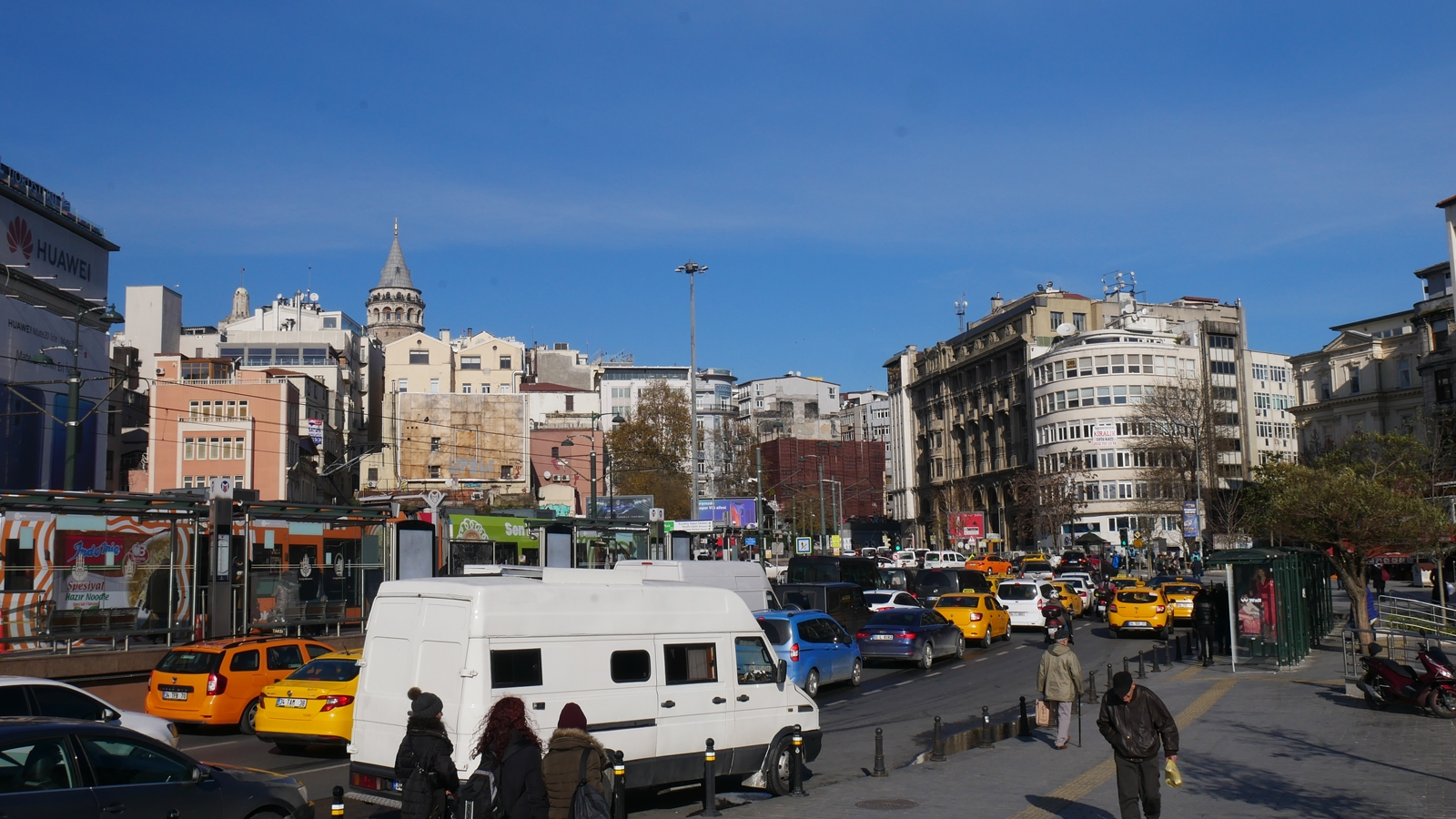 Transportasi Umum di Istanbul Turki