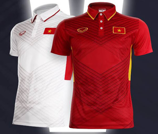 Unique Vietnam 2017 Home and Away Kits Released - Footy Headlines b06699143