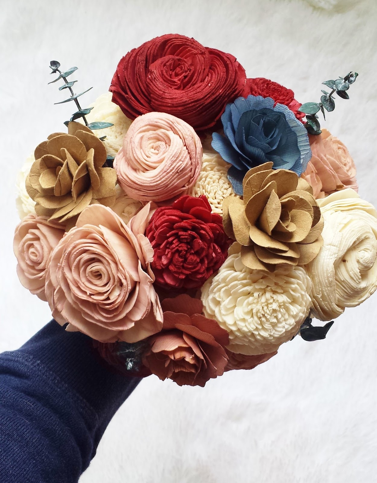 ecoflower, recycled flowers