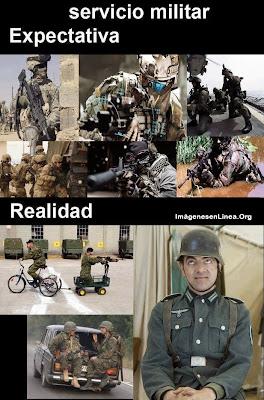 Expectativa vs Realidad: servicio militar