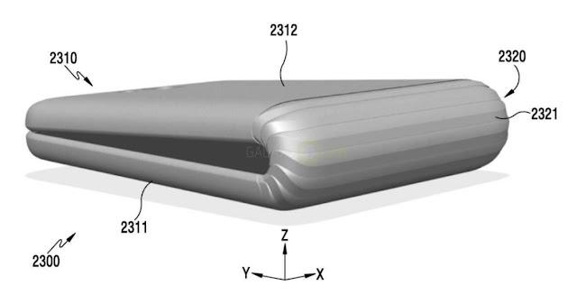 Paten smartphone lipat Samsung bocor, ungkap beberapa detail desain