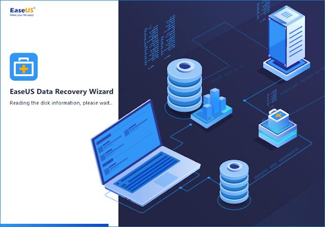 تحميل برنامج استعادة الملفات المحذوفة EaseUS Data Recovery Wizard Full