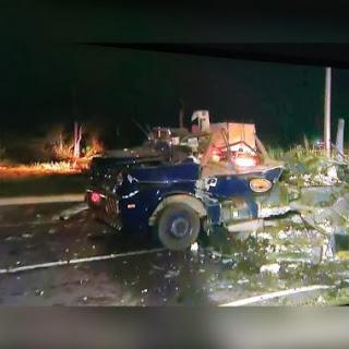 Bandidos param carro-forte a tiros de fuzil, explodem veículo na BR-230 e fogem levando malotes de dinheiro, na Grande João Pessoa