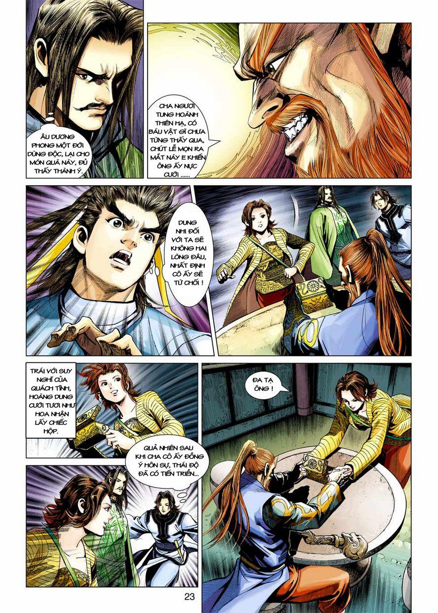 Anh Hùng Xạ Điêu anh hùng xạ đêu chap 43 trang 22